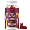 Xobo Beet Root Powder Gummies Supplement - 100 Gummy Soft Chews - Vegan