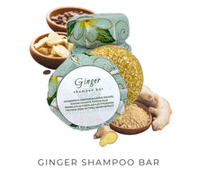 Load image into Gallery viewer, Ginger Shampoo Bar - Aloha Malie