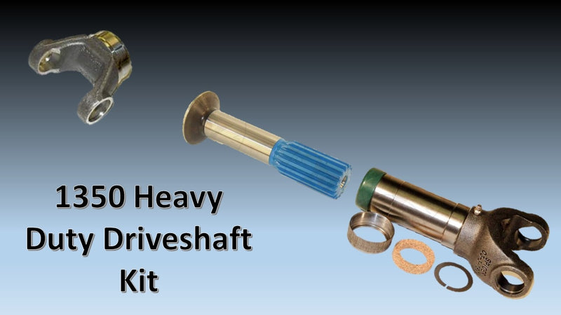 1350 Series, HEAVY DUTY Driveshaft Builder Kit - Busted Knuckle Off Road