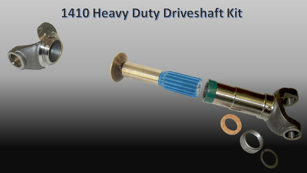 1410 Series, HEAVY DUTY Driveshaft Builder Kit - Busted Knuckle Off Road