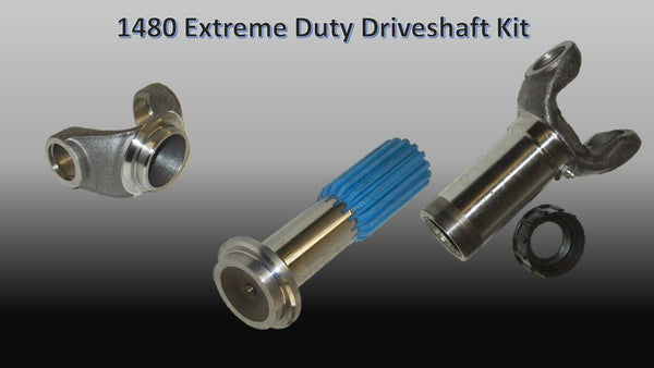 1480 Series, EXTREME DUTY Driveshaft Builder Kit - Busted Knuckle Off Road