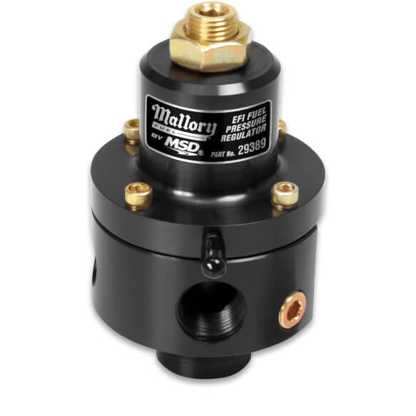 MALLORY ADJUSTABLE FUEL PRESSURE REGULATOR FOR EFI - Busted Knuckle Off Road