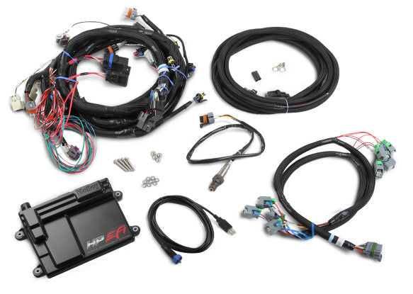 HP EFI ECU & HARNESS KITS GM GM LS2/3/7 NTK Oxygen Sensor - Busted Knuckle Off Road
