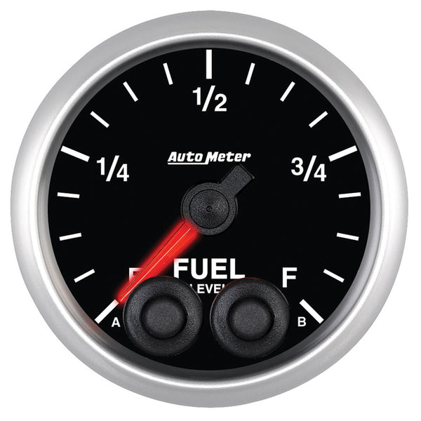 Autometer 2-1/16'' FUEL LEVEL, PROGRAMMABLE 0-280 Ω, ELITE - Busted Knuckle Off Road