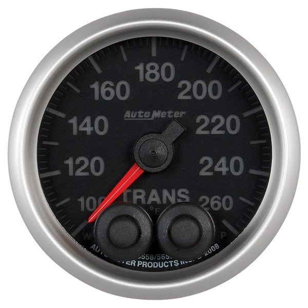 Autometer 2-1/16'' TRANSMISSION TEMPERATURE, 100-260 °F, ELITE - Busted Knuckle Off Road