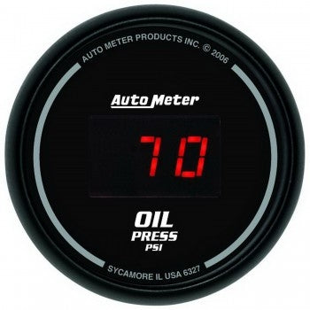 Autometer 2-1/16'' OIL PRESSURE, 5-100 PSI, SPORT-COMP DIGITAL - Busted Knuckle Off Road