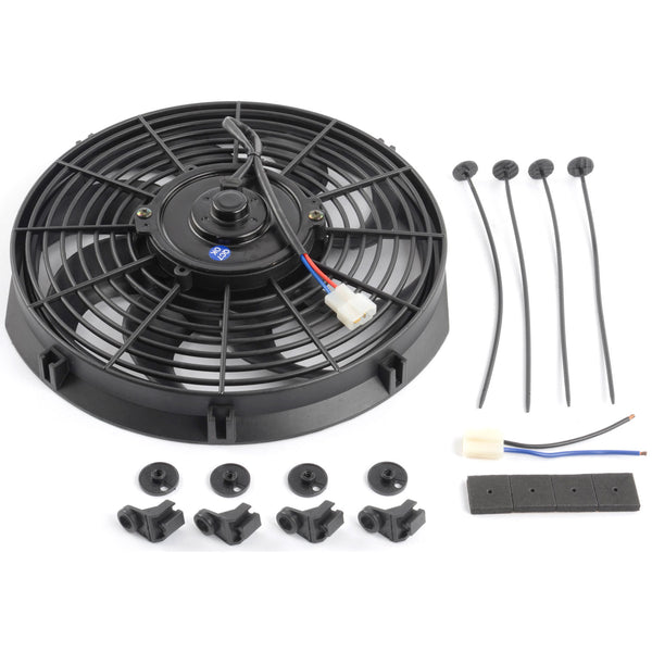 Universal Electric Cooling Fan 16'' - Busted Knuckle Off Road