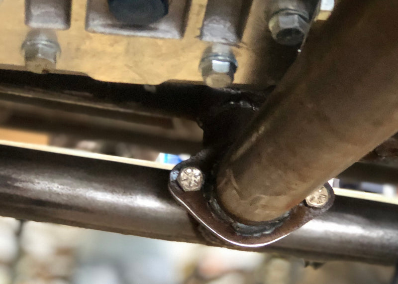 2 bolt tube flanges - Busted Knuckle Off Road