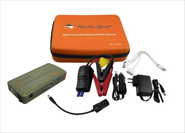 SP12400 - 12,000mAh Sportsman Power Supply & Mini Jump Starter - Busted Knuckle Off Road