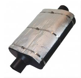 Heatshield Products Muffler Armor - Busted Knuckle Off Road