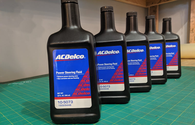 AcDelco power steering fluid - Busted Knuckle Off Road