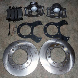 Lugnut4x4 Front 77-91 Chevy Dana 60 disc brake kit - Busted Knuckle Off Road