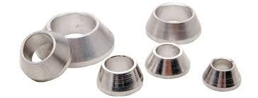 3/4 ID MISALIGNMENT SPACER ZINC PLATED STEEL 2 INCH MOUNTING WID - Busted Knuckle Off Road