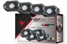 4pc Oracle LED rock light Kit - Busted Knuckle Off Road