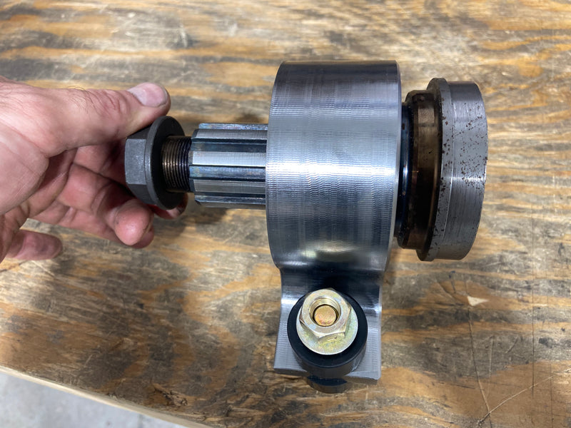 "BKOR BILLET CARRIER BEARING, 1.5""x10 spline shaft - Busted Knuckle Off Road"