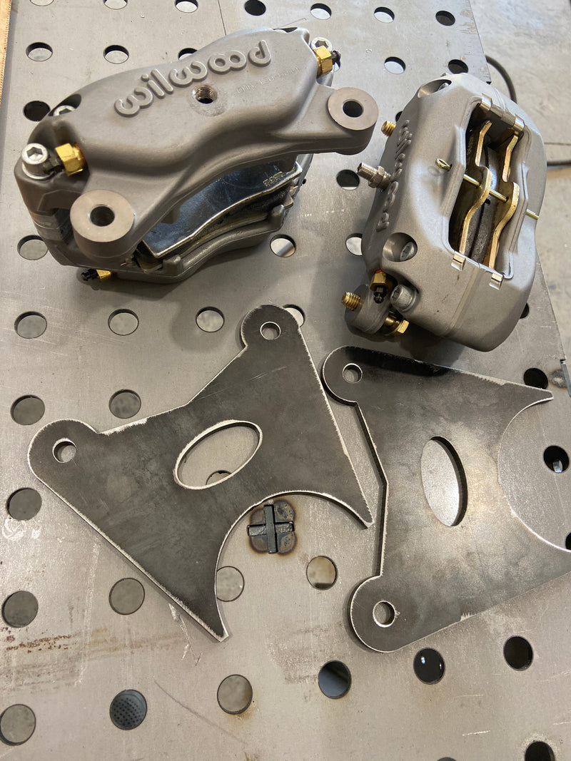 BKOR Ultra Light Weight Brake Kit chevy 14 bolt - Busted Knuckle Off Road