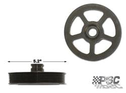 5.2'' dia VORTECH Serpentine pulley 6-RIB for P,N,and CB pumps - Busted Knuckle Off Road