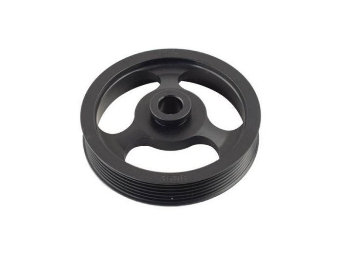 5'' dia Serpentine pulley 6-RIB, TC/CBR, LS Offset - Busted Knuckle Off Road