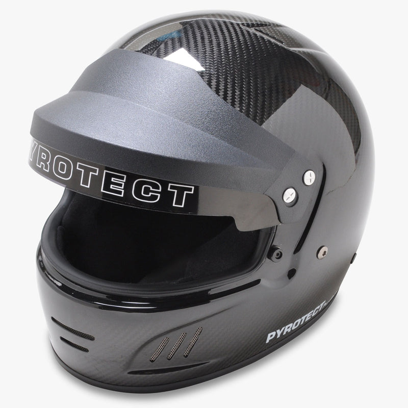 PRO AIRFLOW CARBON WITH VISOR SA2015 - Busted Knuckle Off Road
