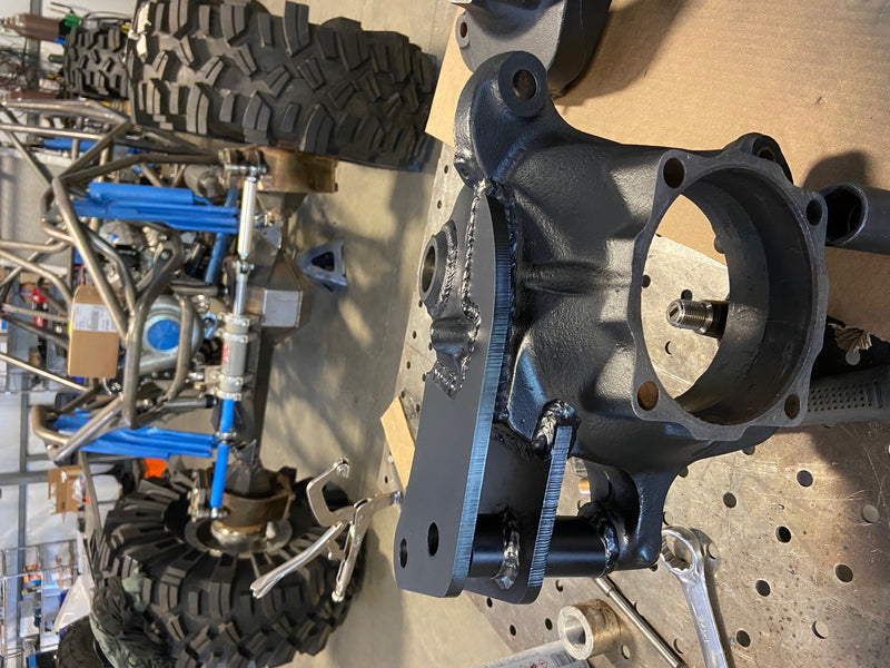 LABOR TO INSTALL SUPER DUTY HIGH STEER ARMS - Busted Knuckle Off Road