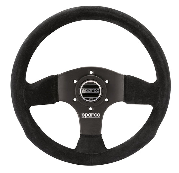 "Sparco 13"" Suede Steering wheel - Busted Knuckle Off Road"