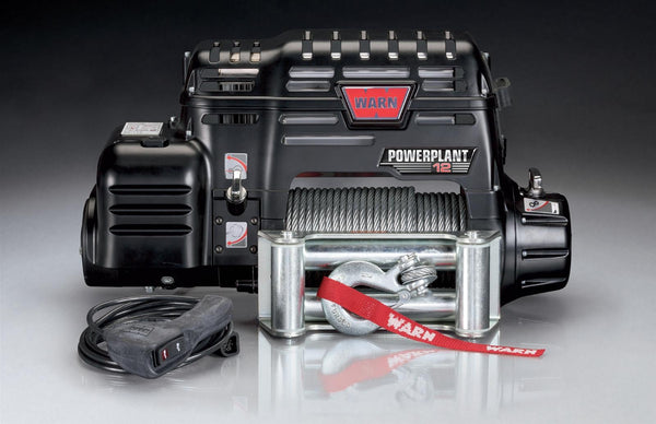 Warn PowerPlant Dual Force HD Winches 91801 - Busted Knuckle Off Road