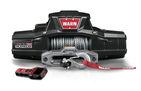 Warn Zeon 12-S Platinum Winches - Busted Knuckle Off Road