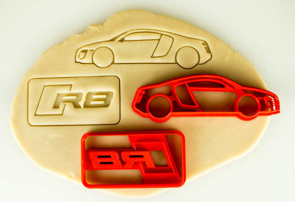Audi R8 First Gen Cookie Cutter Set