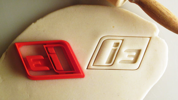BMW i3 Badge Cookie Cutter