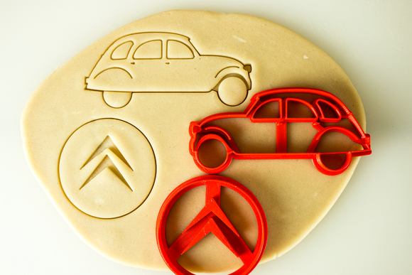 Citroen 2CV Cookie Cutter Set