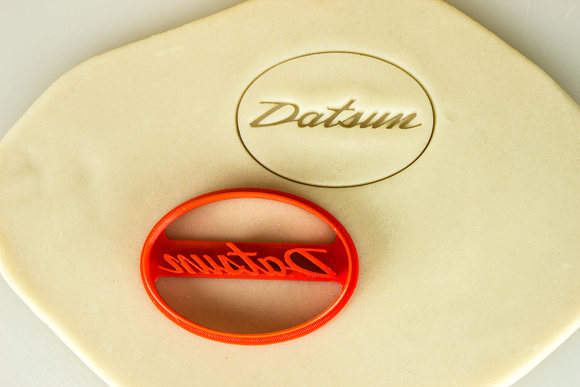 Datsun Badge Cookie Cutter