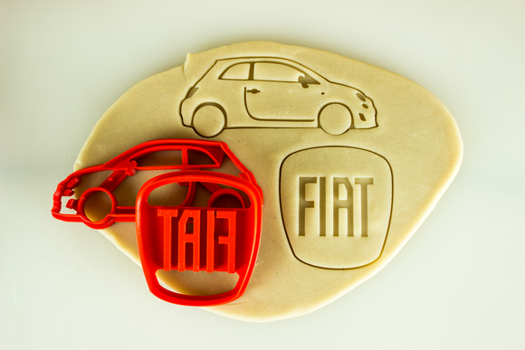 Fiat 500 Cookie Cutter Set