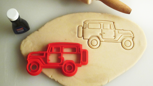 Toyota FJ40 Land Cruiser Cookie Cutter