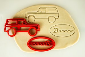 Ford Bronco Gen 1 Cookie Cutter Set
