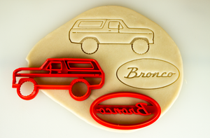 Ford Bronco 2nd Second Generation Cookie Cutter Set
