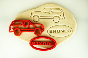 Ford Bronco 5th Fifth Generation Cookie Cutter Set
