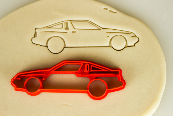 Mitsubishi Starion Conquest Cookie Cutter