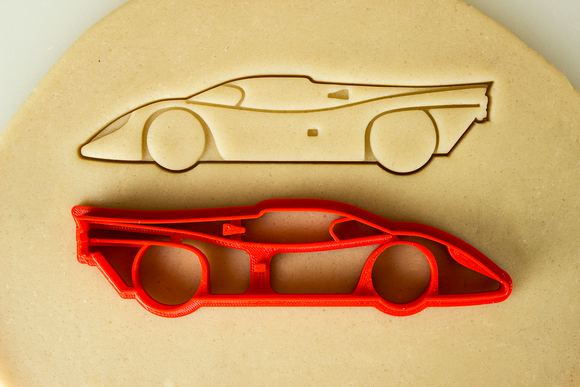 Porsche 917 Race Car Cookie Cutter