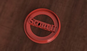International Harvester Scout 2 Logo Cookie Cutter