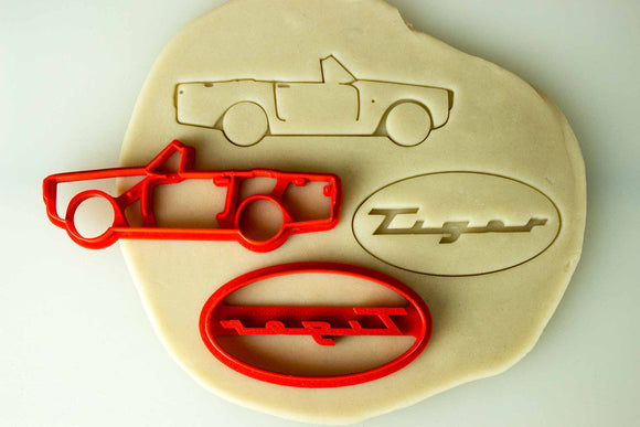 Sunbeam Tiger Cookie Cutter Set