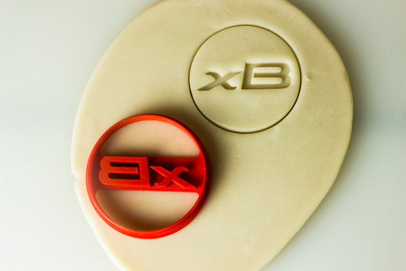 Scion xB Badge Cookie Cutter