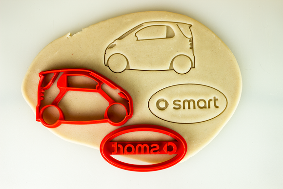 Smart Car 1st Gen Cookie Cutter Set