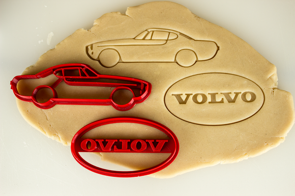 Volvo p1800 Cookie Cutter Set