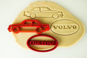 Volvo 240 242 Cookie Cutter Set