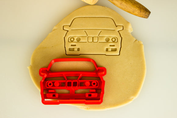 BMW e30 iS Cookie Cutter and Roundel Cookie Cutter Set
