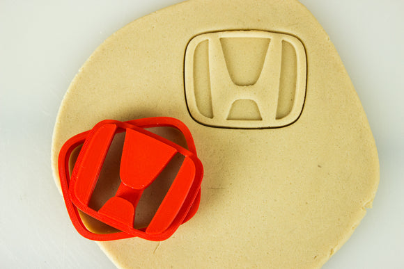 Honda Emblem Badge Logo Cookie Cutter