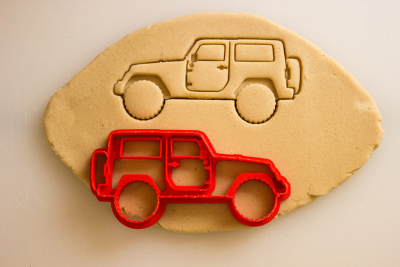 Jeep Wrangler JK 2 Door Cookie Cutter