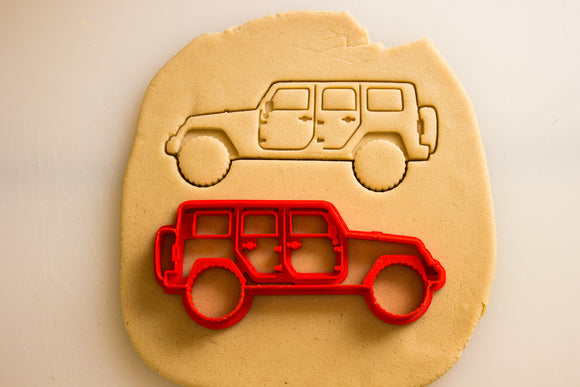 Jeep Wrangler JK 4 Door Cookie Cutter