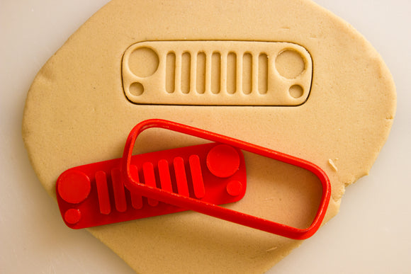 Jeep Wrangler Grill Cookie Cutter
