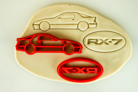 Mazda RX-7 FC Cookie Cutter Set